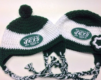New York Jets Crochet Hat