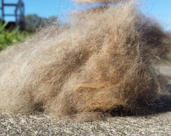 Tasmanian Brushtail Possum Fibre Raw • Spinning, Felting, Craft | per 1/2 ounce