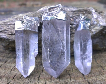 Clear Quartz Point Pendant