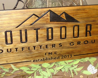 Carved Wooden Sign Craft Show Displays Business Logos Personalized Craft Shows Sign Etsy Banner Logo Signs