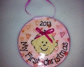 Baby Girls's First Christmas Ornament