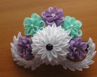 Kanzashi Hair Clip 4.8'' (12cm) Hair Ornament Flower Gifts accessory
