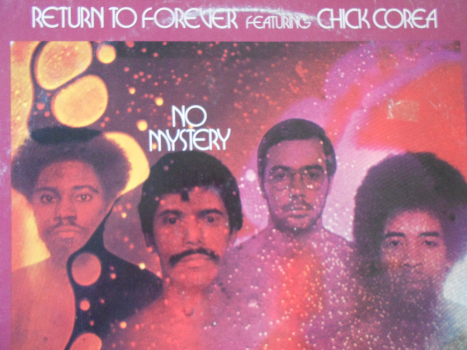 Return To Forever featuring Chick Corea No Mystery vinyl