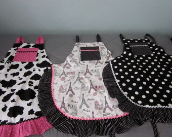 Custom Aprons Made to Order. Free Shipping!