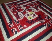 Made in Maui, 100% hand stitched, applique Hawaiian Quilts