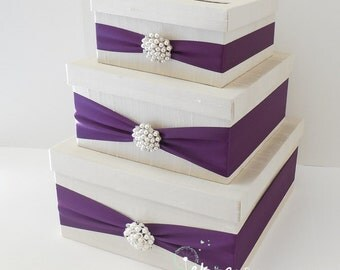 Awesome Purple Wedding Card Box Images - Styles & Ideas 2018 ...