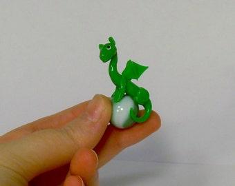 Dragon Marble Pendant