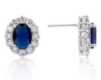 Royal Sapphire Earrings