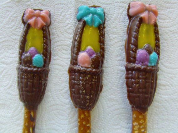 Basket Making Supplies Maine : Easter basket pretzel pops set of by promise pretzels