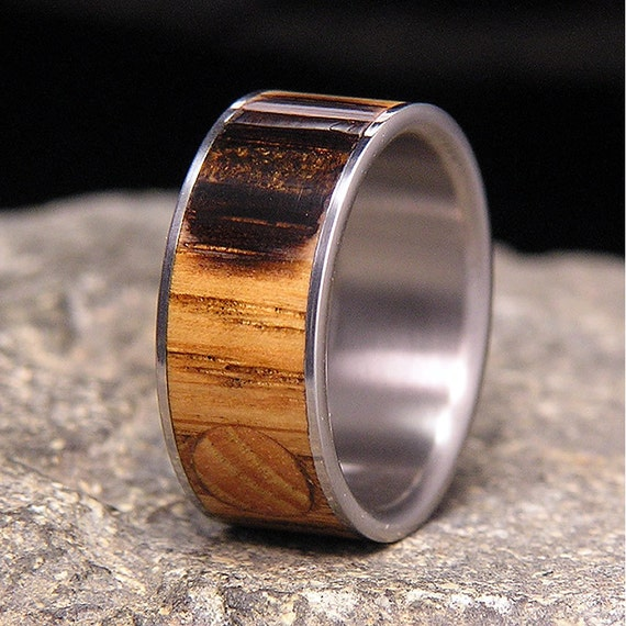 Useful Bands: Used Jack Daniel Distillery Whiskey Barrel Wood Inlay With