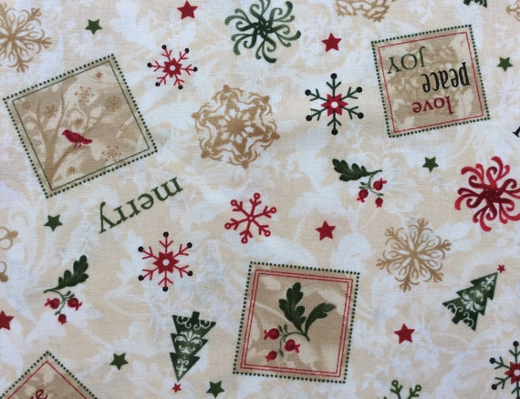Christmas fabric by timeless treasures cotton fabric by for Kids fabric by the yard
