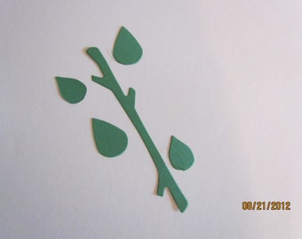 branch/leaves die cut