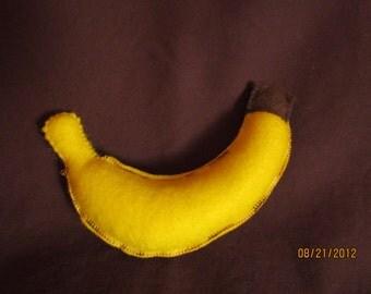 banana felt food
