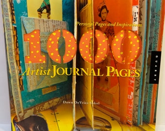 1000 Artist Journal Pages-Personal Pages and Inspirations