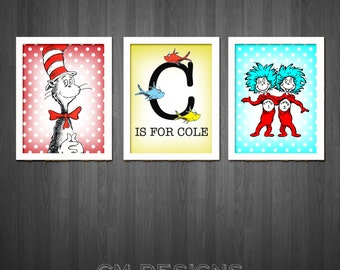 dr seuss wall art. Black Bedroom Furniture Sets. Home Design Ideas
