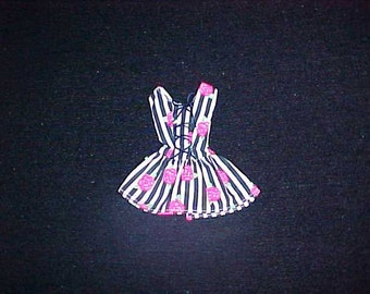 Awsome Modern Modified BARBIE Floral CORSET DRESS