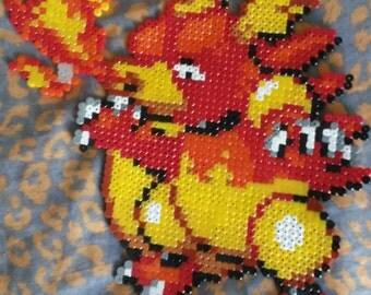 Magmar Pixel Art