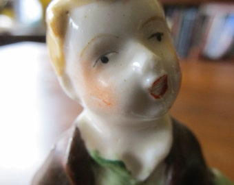 Occupied Japan Porcelain Figurine