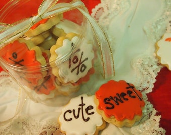 Personalized  Sugar Cookies