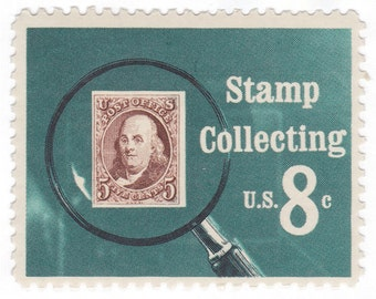 "Qty of 10 - Unused 1972 Vintage Postage Stamp ""Stamp Collecting"" - No. 1474"