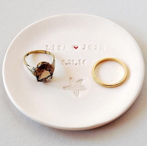Personalized Wedding Commemorative Memento Bridal Shower Gift Ring ...