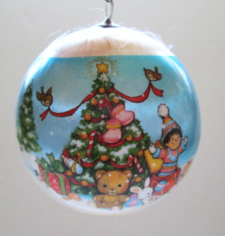 Hallmark Satin Ornament 1979 Baby's First Christmas Tree