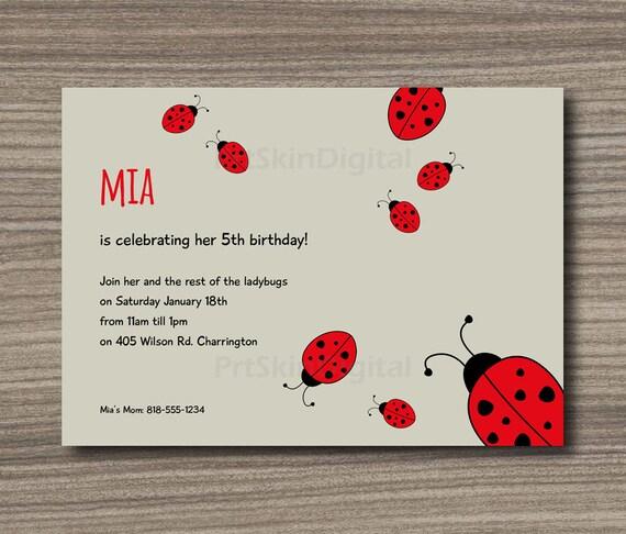 Ladybug birthday invitation printable ladybug baby shower il570xn filmwisefo