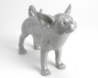 Popular items for chihuahua statue on etsy for Decoration chien resine