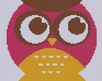 Owl 2 Cross Stitch Pattern