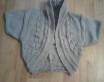very chic knitted bolero for Ladies