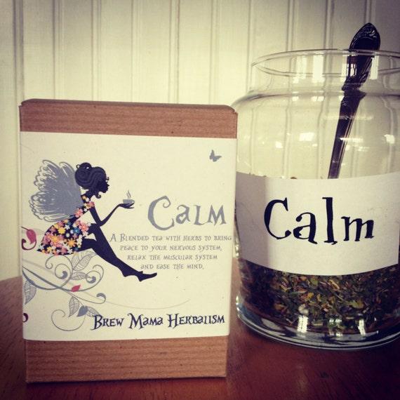 """Herbal Tea """"Calm"""" by Brew Mama Herbalism"""