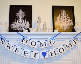 Home Sweet Home Banner, Welcome Home Banner, home from war banner, military welcome home banner,  welcome home sign