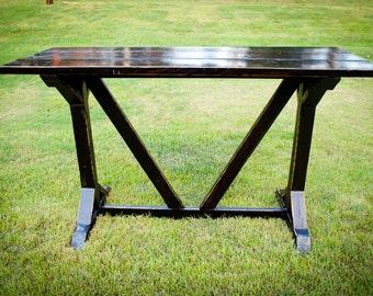 Farmhouse Architectural English Style Bar Table