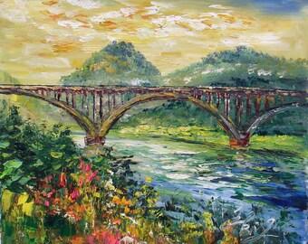Bridge from Wedderburn to Gold Beach, Oregon-Pen King-6432