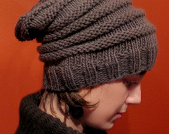The Slouchy Hat knitting pattern