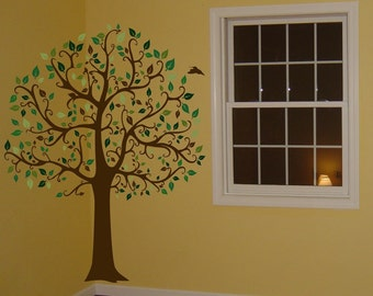 Large 6ft Tree Wall Decal Deco Art Sticker Mural - FREE SHIPPING!