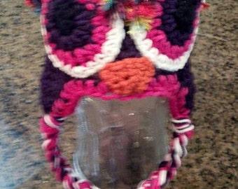 Glitzy owl Hat