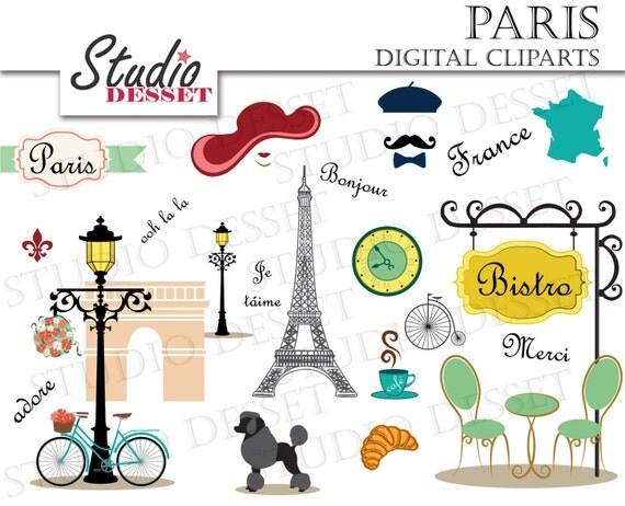 Paris Cliparts France Clip Art Eiffel Tower Clipart DIY