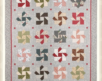Strolling Along quilt pattern by Whimsicals