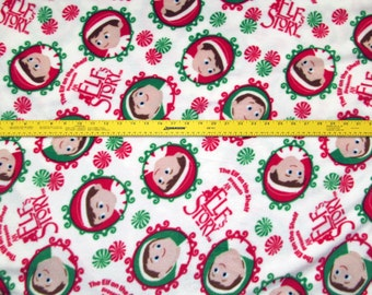 Elf on the Shelf An Elf's Story Fleece Fabric BTY RARE VHTF
