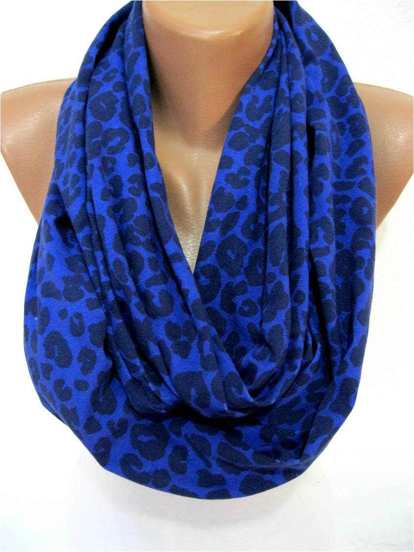 on sale leopard scarf infinity scarf shawl circle scarf