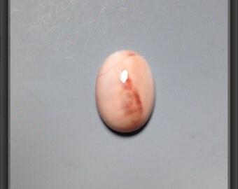 Mexican opal cabochon 13 x 18mm