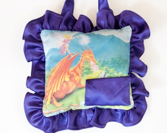 Dragon Tooth Fairy Pillow for Boys