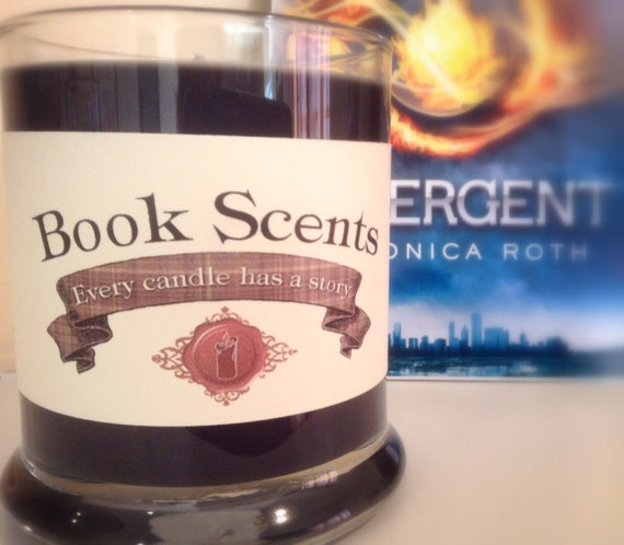Dauntless - Book Inspired Candle - Hand Poured, 10 oz soy blend container candle