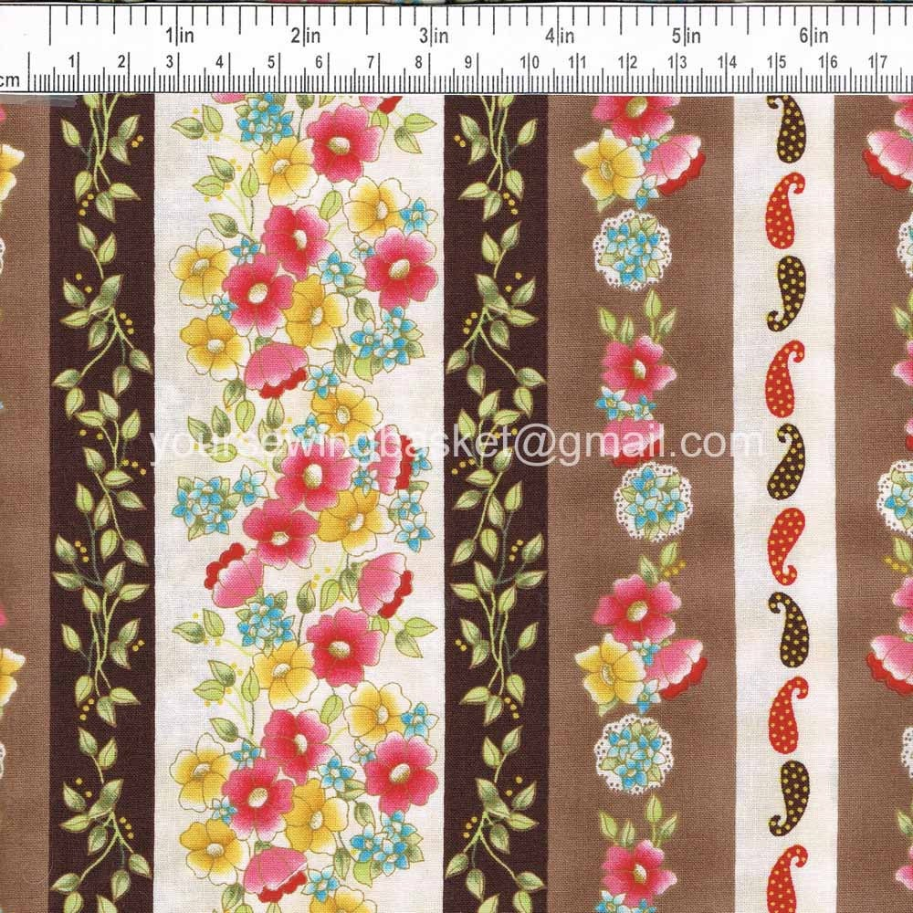 Quilt fabric sale audrey garden fabric p b by yoursewingbasket for Quilting fabric sale