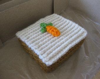 Coffee Cake, German Chocolate Cake, Carrot Cake Square