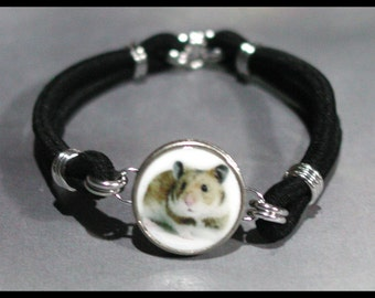 HAMSTER Pet Dime Stretch Bracelet - One size fits most - Made In USA