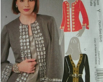 Misses Cardigans in Two Lengths Size XS-M 4-6-8-10-12-14 McCalls Made-For-You Pattern M5756 UNCUT Pattern 2008