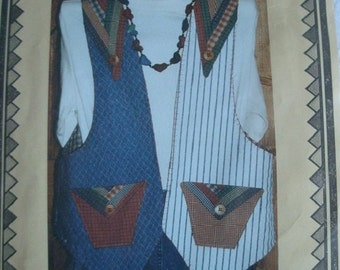 Misses Tahoe Trails Vest Sizes 6-22 Eileen's Design Studio Pattern V16 Full Materials List and Instructions Foundation Piecing NEW Pattern