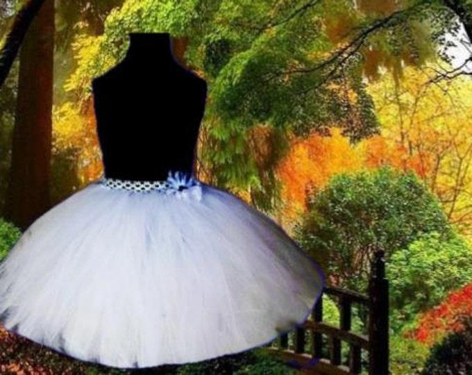 Snow Fairy Princess Long Tutu *Adjustable Size**